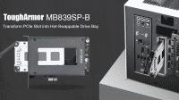 Icy Dock packt 2,5-Zoll-SSD in PCI-Express-Steckplatz