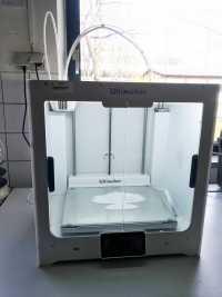 3D-Druck mit Atemschutzmaske