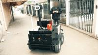 Robo-Streife im Einsatz: Polizeiroboter kontrolliert Ausgangssperre in Tunesien
