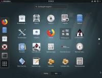 Zwar ist Gnome im Classic-Modus als Standard-Desktop vorgegeben. Es gibt aber auch den üblichen Gnome-Desktop sowie optionale Wayland-Pakete zum Nachrüsten.