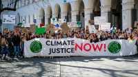 Fridays for Future: Netzstreik und Kunstaktion für den Klimaschutz