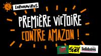Amazons französische Logistikzentren bleiben zu