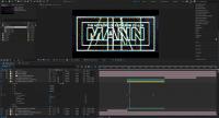 Der Concentric Path Repeater in After Effects wiederholt Linien, beispielsweise um Analoglooks der VHS-Ära zu imitieren.