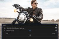 Premiere Pro unterstützt künftig das Videorohdatenformat Apple ProRes RAW.