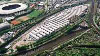 Mercedes Motorenwerk in Bad Cannstatt