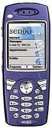 Sendo-GPRS-Handy mit Stinger-Betriebssystem