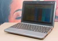 Die Medion-Version des MSI Wind hat schon die deutsche Tastaturbelegung.
