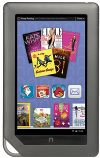 Die Nook-Tablets und -E-Book-Reader von Barnes & Noble arbeiten mit Android