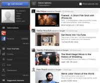 Das neue YouTube-Design integriert Google+