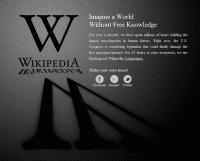 Wikipedia-Protest gegen SOPA