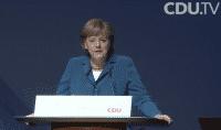 Angela Merkel bei der CDU MediaNight 2012