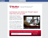 McAfee Social Protection