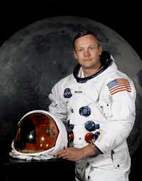 Neil A. Armstrong als Kommandant der Apollo-11-Mission