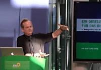 Lawrence Lessig auf dem netzpolitischen Kongress der Grünen