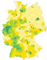 Online-Atlas des Bundeswahlleiters