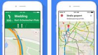 Google Maps für iOS erleicht Setzen von Navigationspunkten