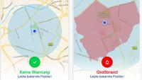 Katwarn-App informiert landesweit bei Katastrophen