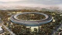 """Drohnenaufnahmen: Apples """"Mutterschiff"""" wird hochgezogen"""