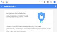 Google verspricht zwei GByte Online-Speicher für Teilnahme an Sicherheitscheck
