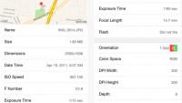 Fotometadaten: ViewExif-Erweiterung für iOS kostenlos