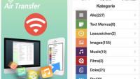 Dateiaustauschtool Air Transfer+ aktuell kostenlos
