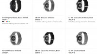 Apple-Watch-Armbänder kosten zwischen 60 und 500 Euro