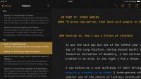Schreibprogramm Ulysses fürs iPad erhältlich