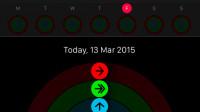 Erster Blick auf die Aktivitäts-App für die Apple Watch