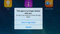 Familienfreigabe in iOS 8: Apps plötzlich unbrauchbar