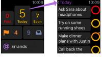 Populäre Apps für Apple Watch angepasst