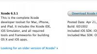 Update für Xcode behebt Fehler