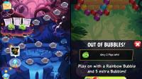 iOS-Spiel: Blasen poppen mit wütenden Vögeln