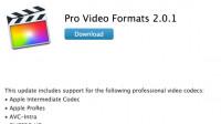 OS X: Update 2.0.1 für Pro-Video-Formatunterstützung wird zum Zombie