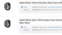 Apple Watch wohl demnächst in Apple-Filialen zu haben