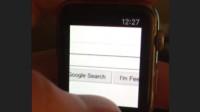 Bastelarbeit: Browser für die Apple Watch