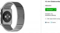 Apple-Watch-Armbänder treffen bei Bestellern ein