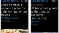 Erste Apple-Watch-App von Google