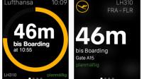 Lufthansa-App kommt auf die Apple Watch