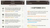 Kostenlos: iPhone-Tagebuch-App Momento