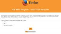 Firefox für iOS: Mozilla startet Betatest