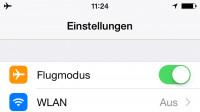 iOS 8.3: GPS bleibt im Flugzeugmodus aktiv