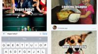 iOS-App Pext kombiniert Messenger mit Meme-Generator