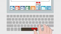 Smartbar: Touchpad-Funktionen für die Leertaste