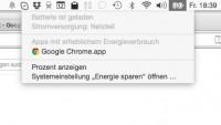 Chrome für OS X will kein Akkufraß mehr sein