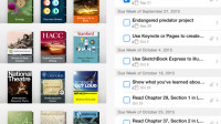 iTunes-U-App nimmt Hausaufgaben entgegen