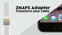 Znaps: Magnet-Adapter für Lightning-Ladekabel