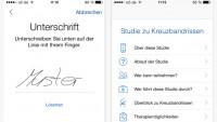 Apples ResearchKit: Erste App-Studie auch in Deutschland