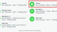 Web-Version von WhatsApp nun auch für iPhone-Benutzer