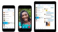 Skype: Neue Bedienoberfläche für iPhone, iPad und Android