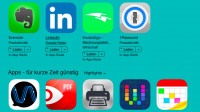App Store: Preissenkung bei mehreren Produktiv-Apps